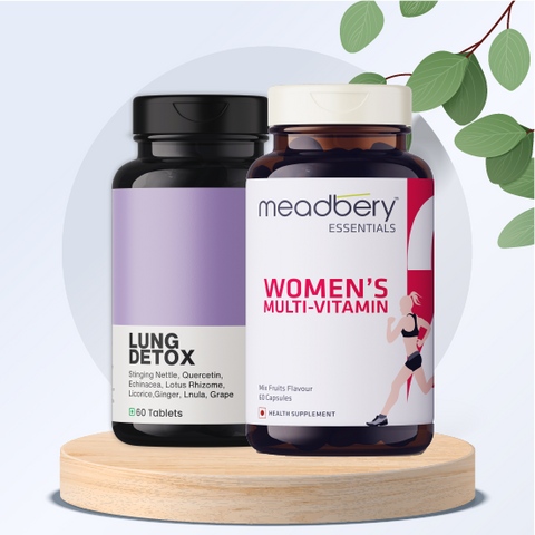 Lung Detox + Women's Multivitamin