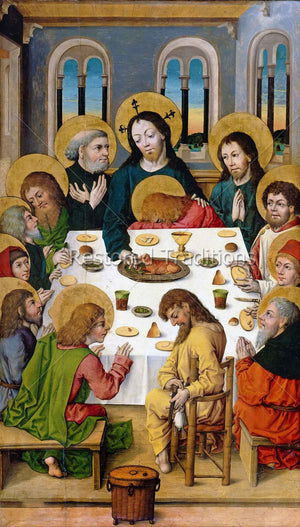 meal of Jesus and apostles