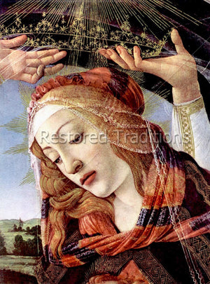 The Madonna, by Botticelli