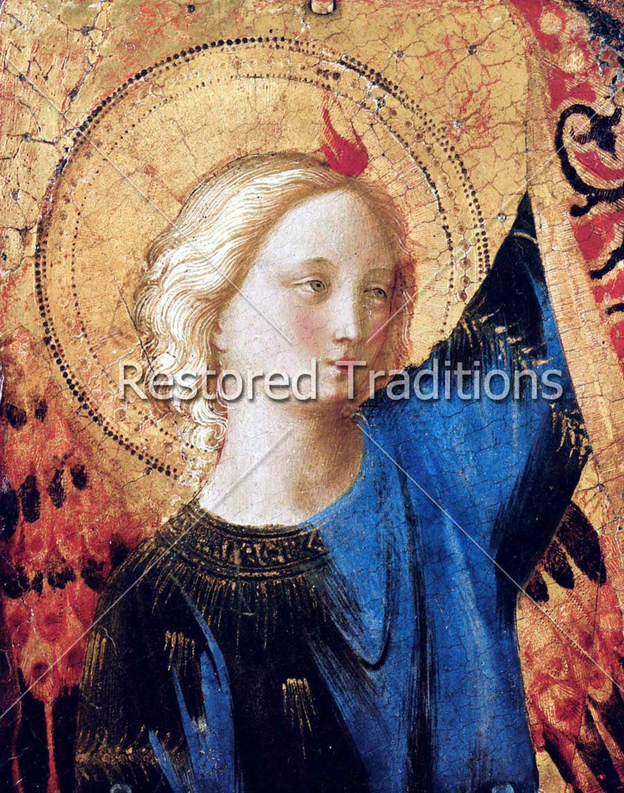 A Celestial Angel by Artist Fra Angelico
