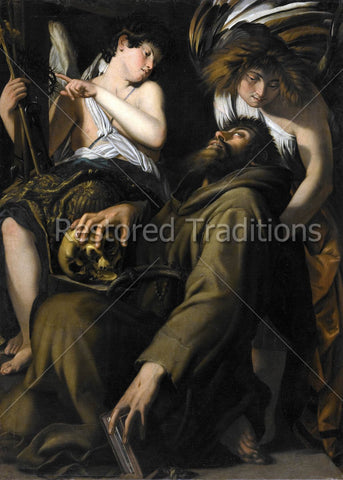 Angels Holding St. Francis