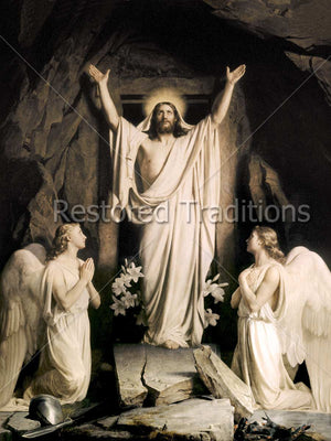Christ Risen Artwork