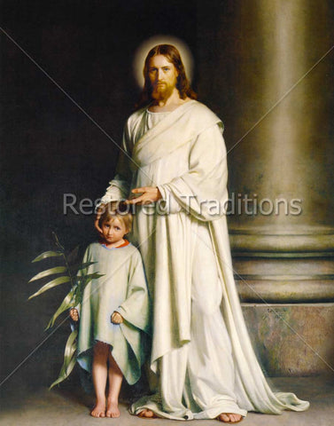 Christ Embracing Child