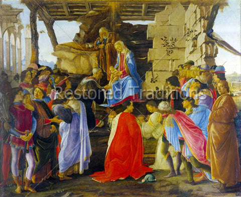 Epiphany, Kings Give Gifts to Christ