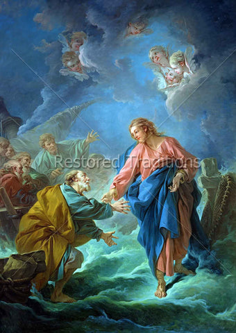 Miracle with Apostles