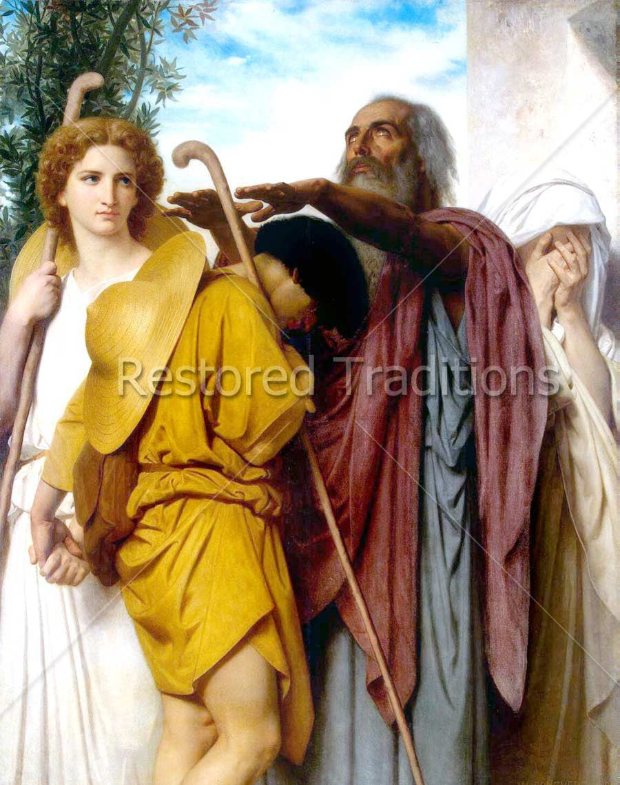 Archangel Raphael on Left