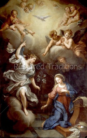 Archangel Gabriel Visits Virgin Mary