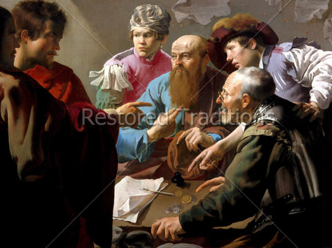 Christ Calls Matthew to be Apostle