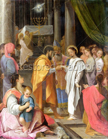 Betrothal of the Virgin Mary to St. Joseph