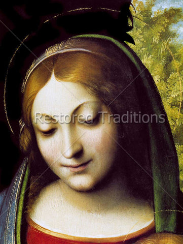 Blessed Virgin Mary Portrait