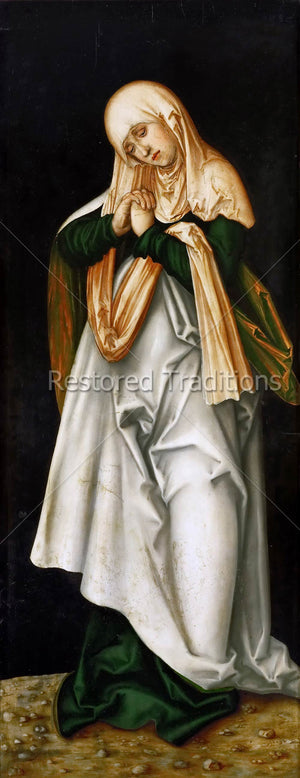 Sorrowful Mother Mary Artwork