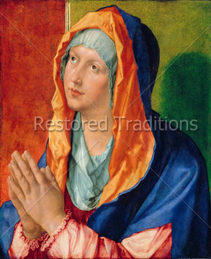 Portrait of Madonna with Folded Hands