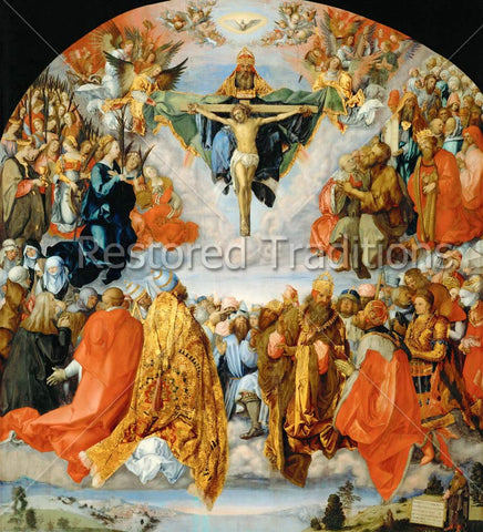 Communion of Saints Adore God