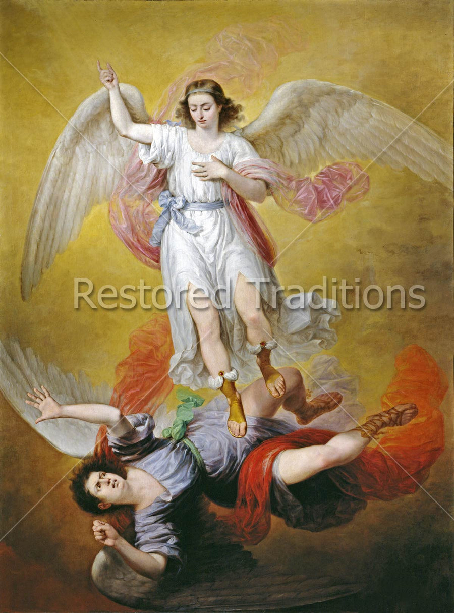 Archangel Michael Defeats Satan