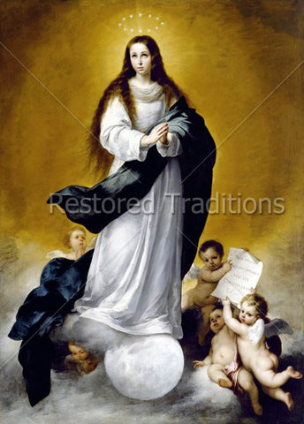 Our Lady Standing on the Moon