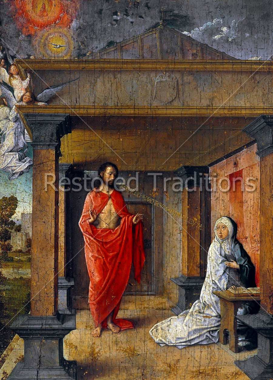Jesus Appears to Mary on Easter Morning