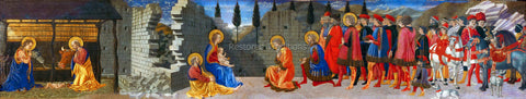 Christmas and Epiphany in One Painting