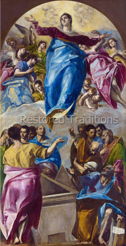 Resurrection of Virgin Mary Into Heaven
