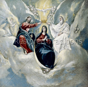 Holy Trinity Crowns Our Lady in Heaven