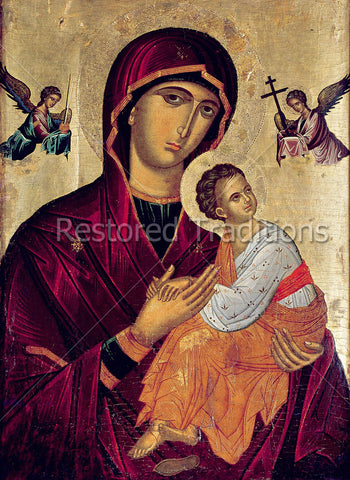 Theotokos, Madonna & Christ Child