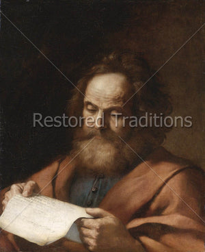 Evangelist and Apostles Luke Reading