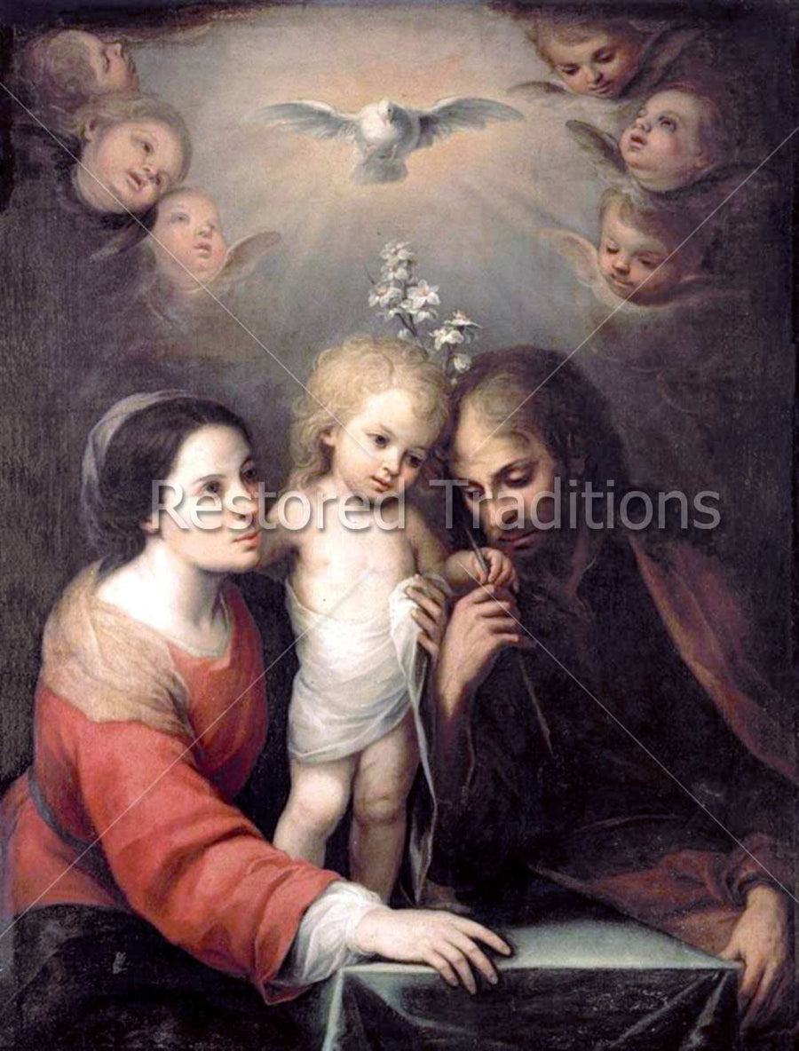 Holy Spirit and Holy Family