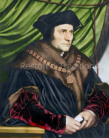 Sir Thomas More Portrait