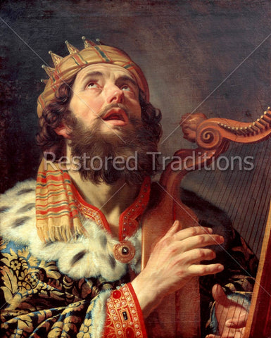 King David Sings to God