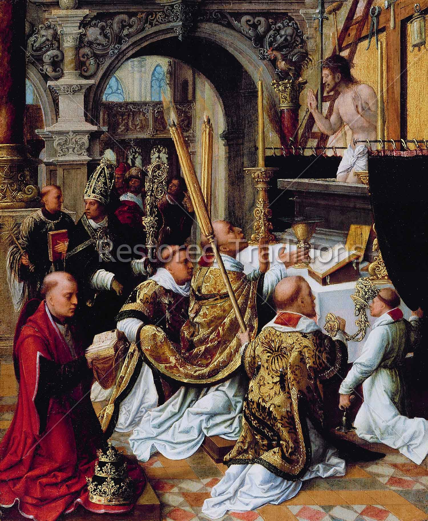 mass of st. gregory the great | high-res download