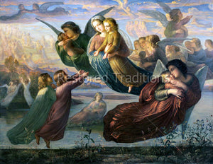 Memory of Heaven Art by Janmot