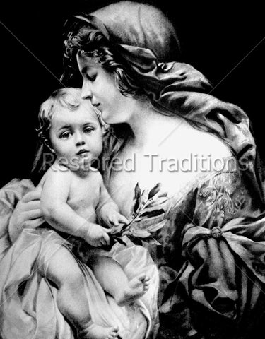 Mother and Child Jesus