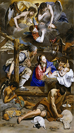 Nativity of the Child in Bethlehem