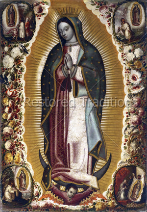 Hispanic Mother Mary