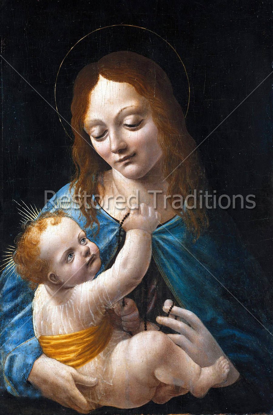 Blessed Mother and Infant Christ