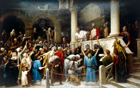 Pilate Presents Jesus to Jews