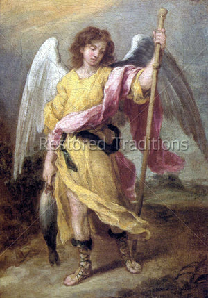 Archangel Carrying Fish