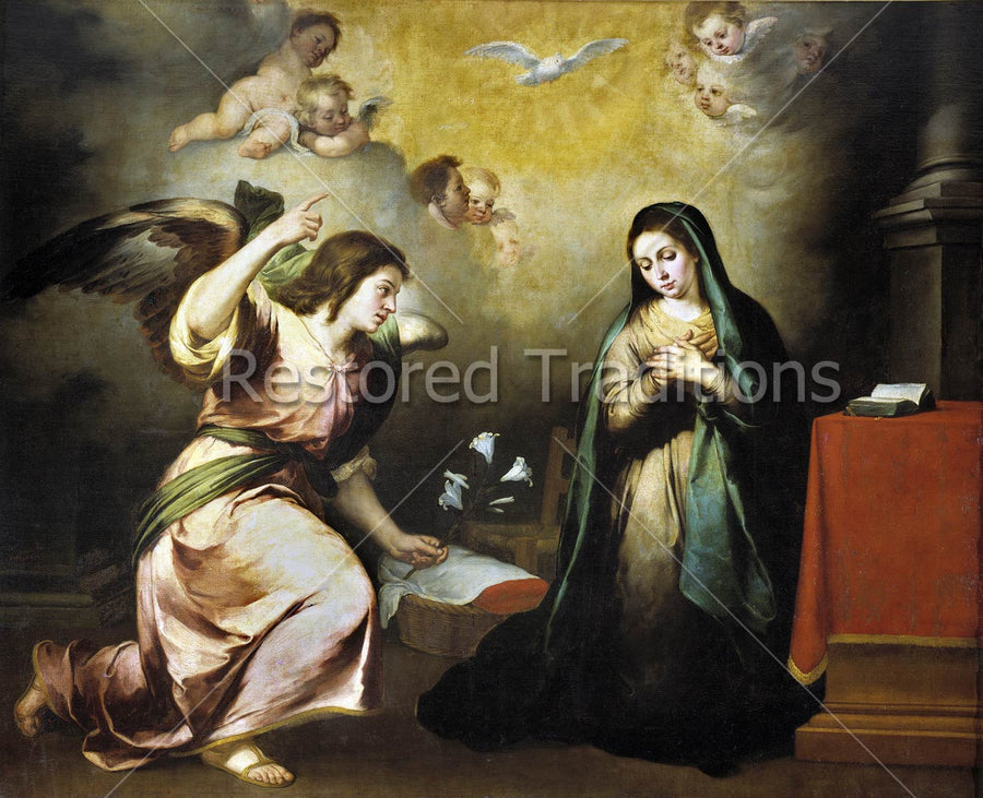 Mary Accepts Gabriel's Message