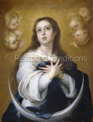 Portrait of Mary Immaculate
