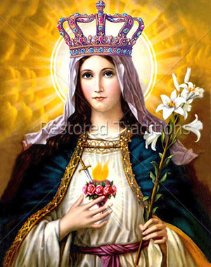 Virgin Mary Queen
