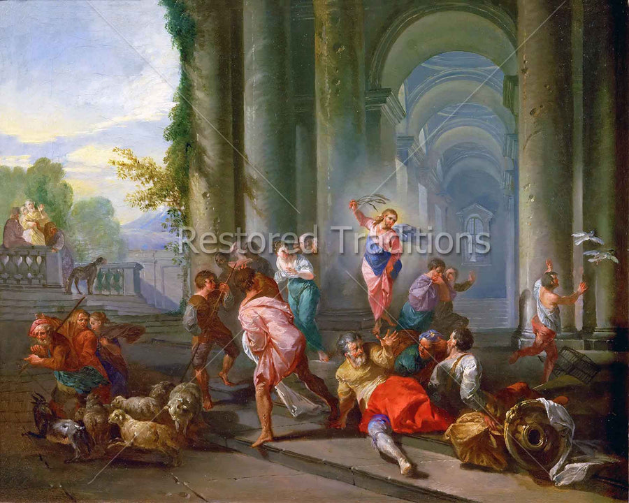 Moneychangers in Temple
