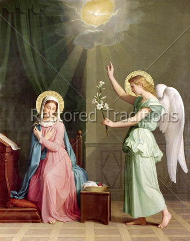 Angel Gabriel and Our Lady