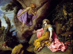 Hagar and angel