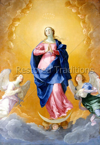 Our Lady in Heaven, Flanked by Angels