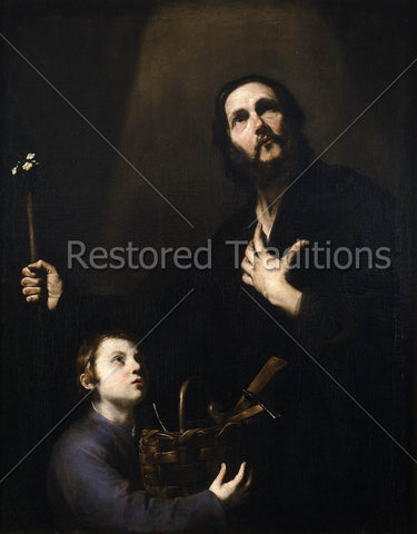 Child Jesus with Foster Father Joseph