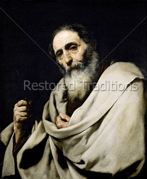 Portrait of an apostle of Jesus
