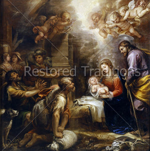 Nativity of Jesus in Bethlehem