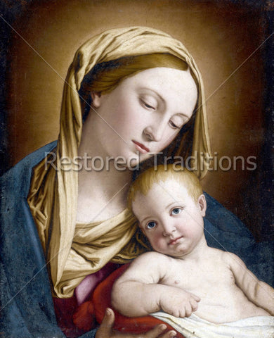 Madonna & Child III – Sassoferrato