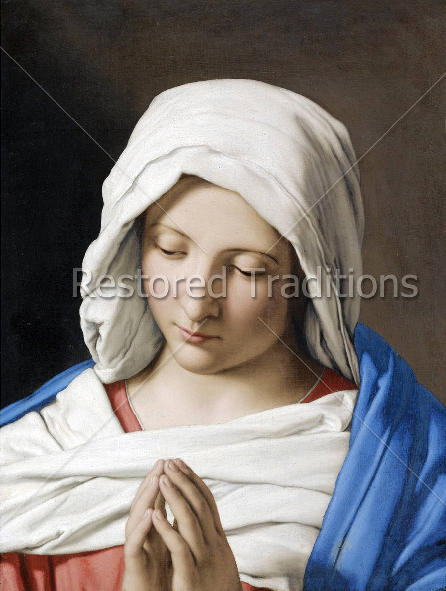 Virgin Mary Praying