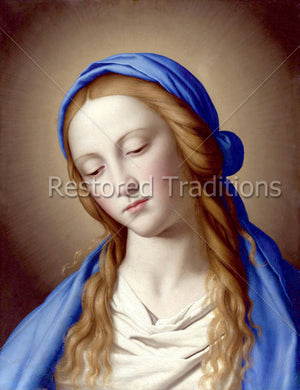 Portrait of Blessed Virgin Mary