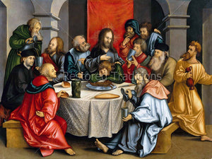 Last Supper of Jesus and Apostles